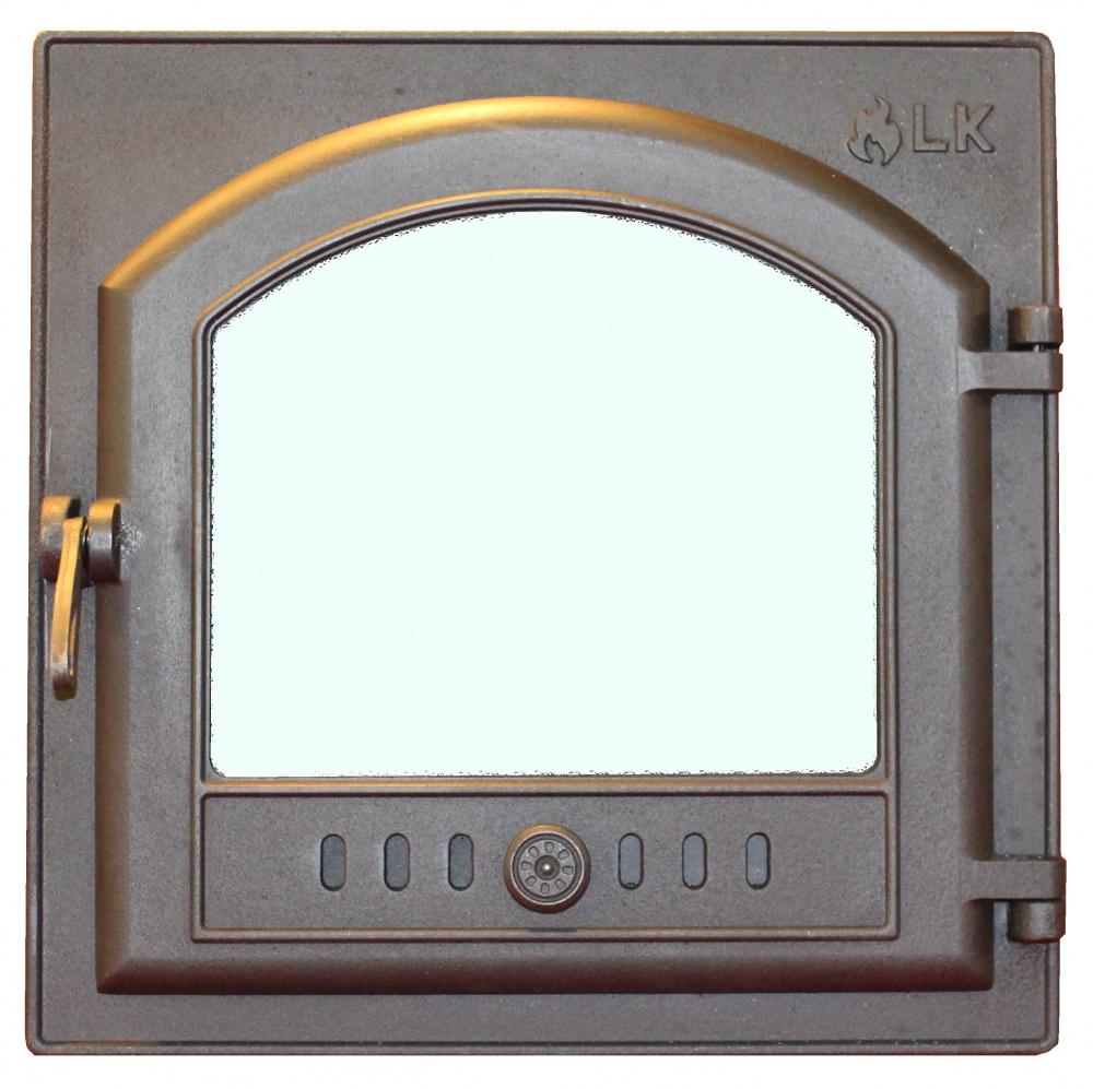 Топочная дверка со стеклом